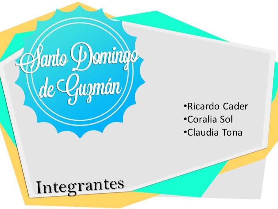 Ricardo Cader Coralia Sol Claudia Tona Integrantes
