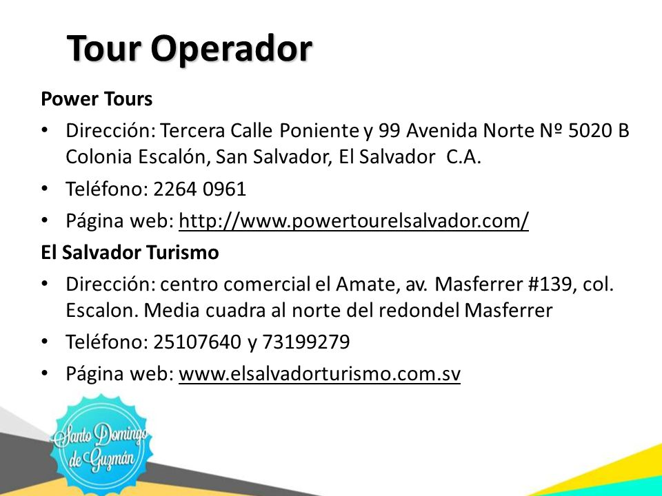 Tour Operador Power Tours