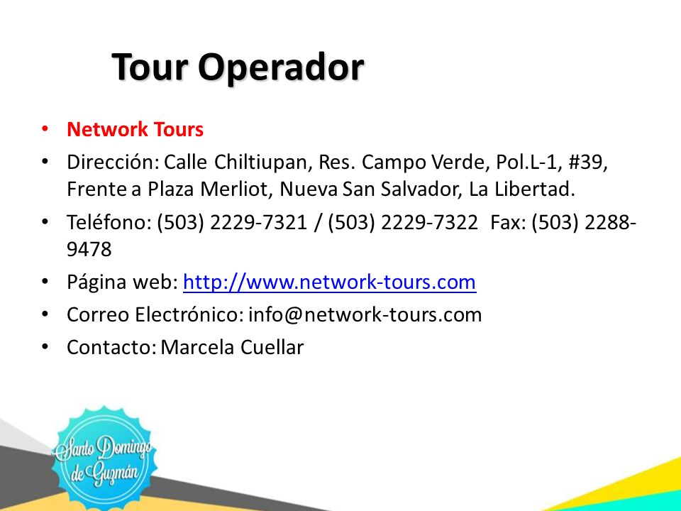 Tour Operador Network Tours