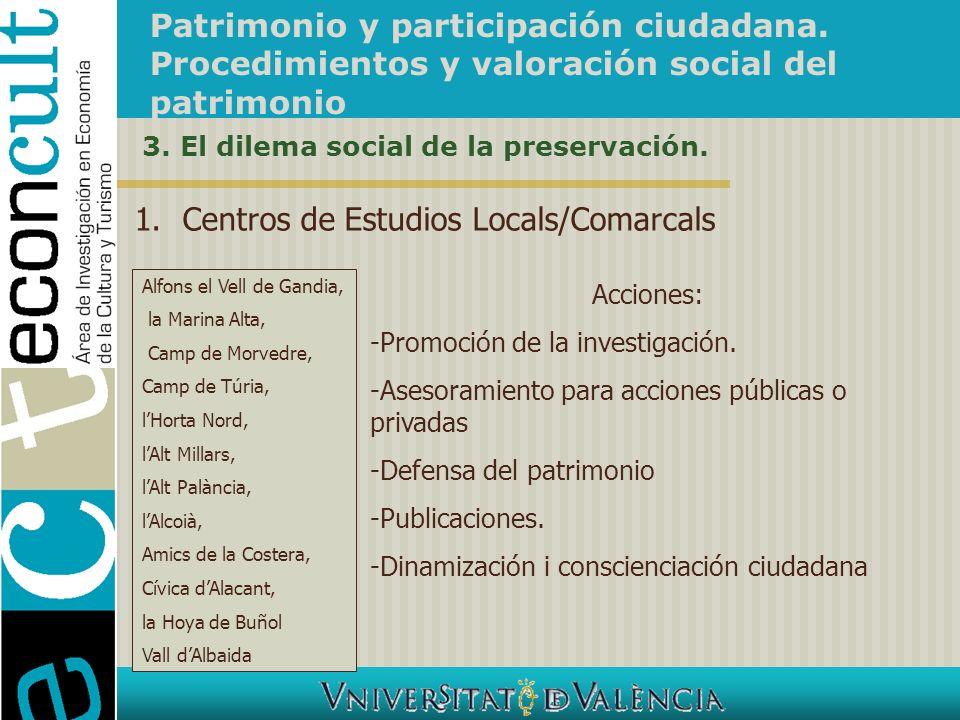 Centros de Estudios Locals/Comarcals