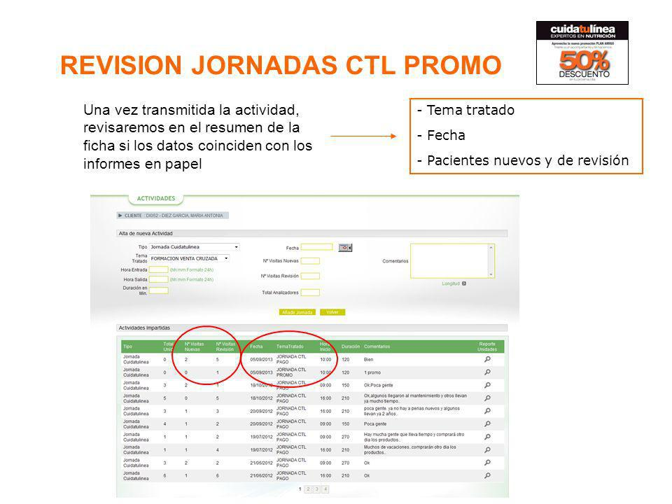 REVISION JORNADAS CTL PROMO