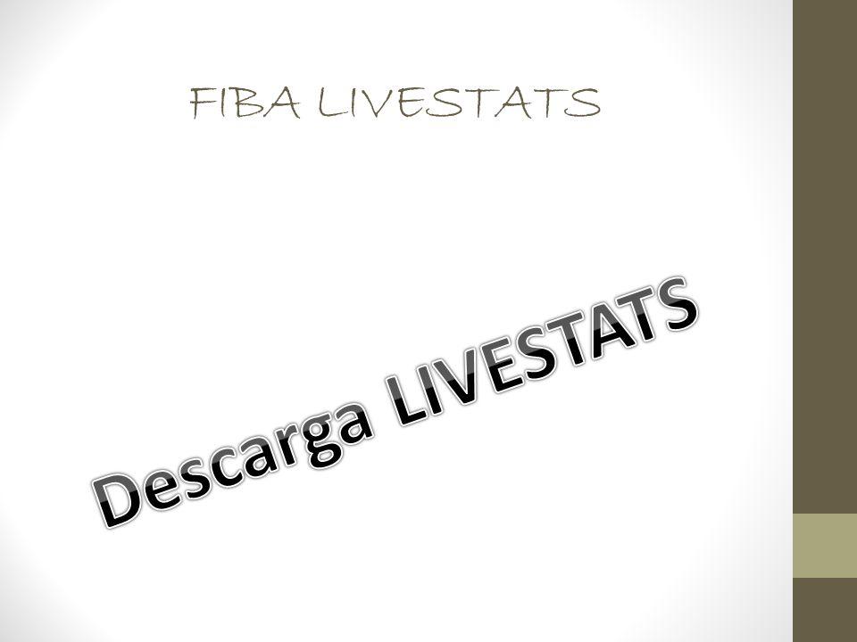 FIBA LIVESTATS Descarga LIVESTATS