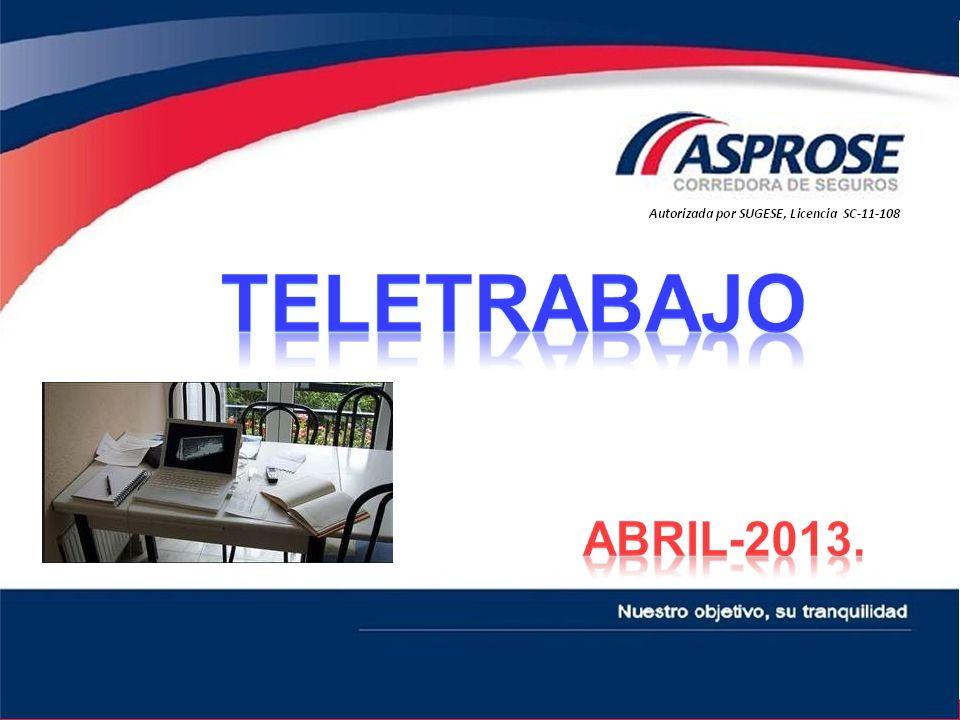 TELETRABAJO ABRIL-2013.