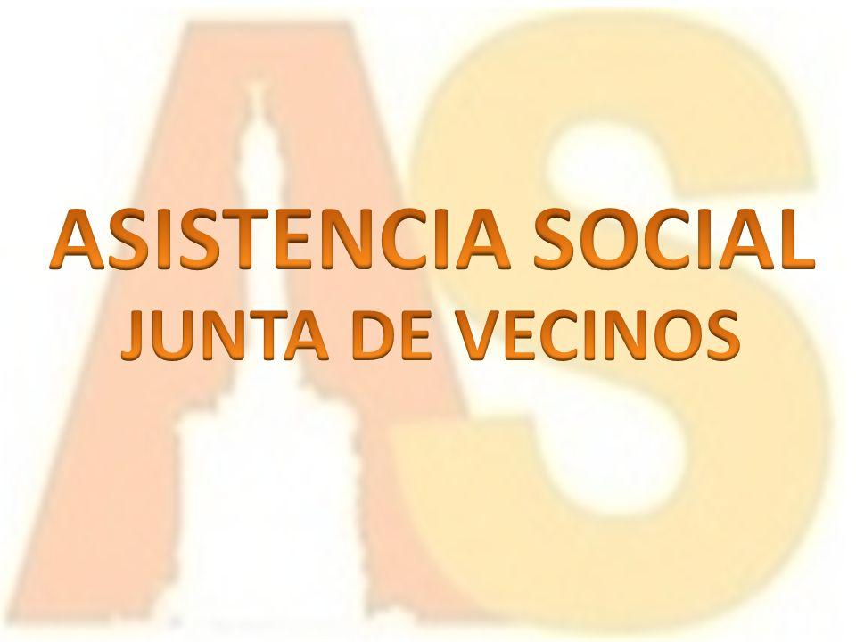 ASISTENCIA SOCIAL JUNTA DE VECINOS