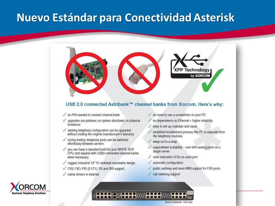Nuevo Estándar para Conectividad Asterisk