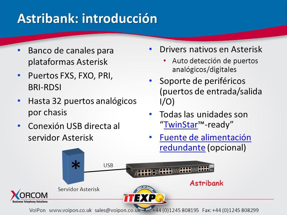 Astribank: introducción
