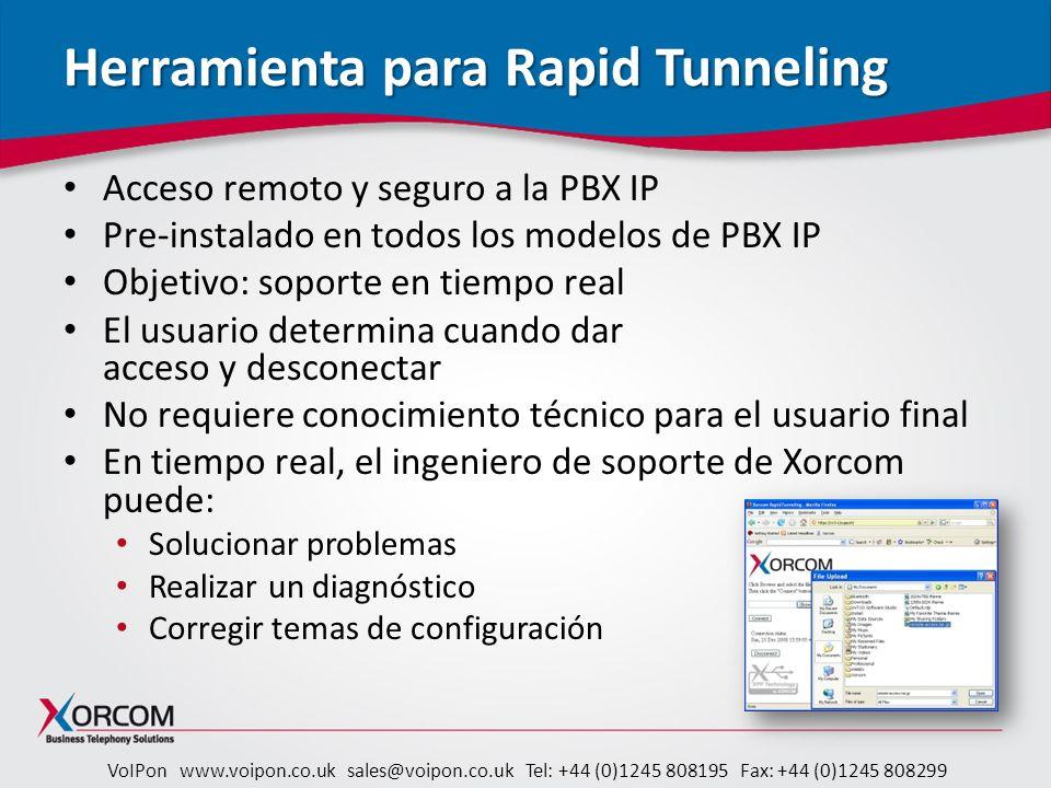 Herramienta para Rapid Tunneling