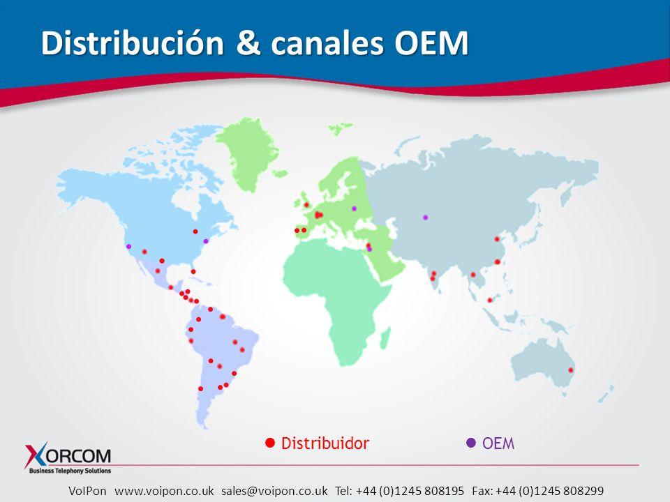 Distribución & canales OEM