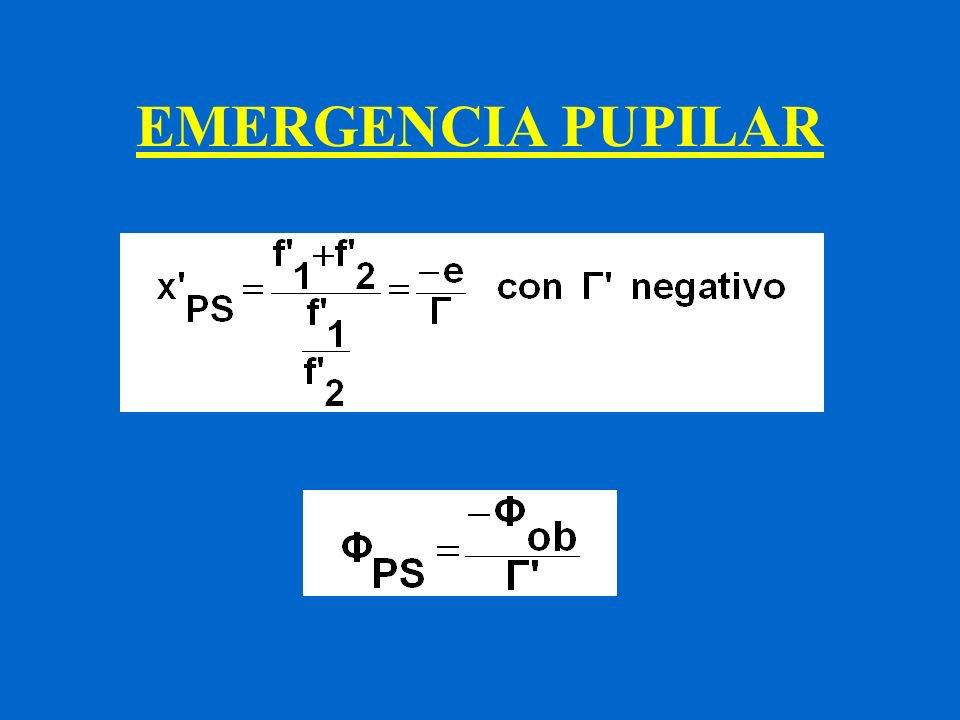 EMERGENCIA PUPILAR