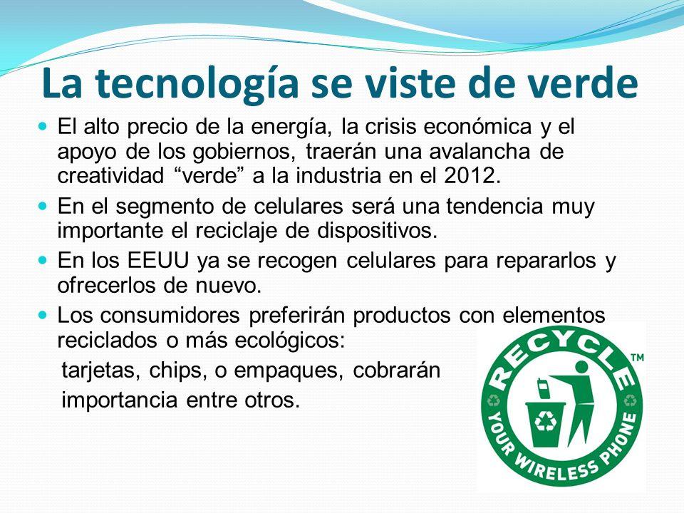 La tecnología se viste de verde