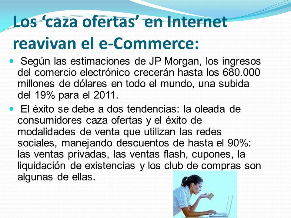 Los 'caza ofertas' en Internet reavivan el e-Commerce: