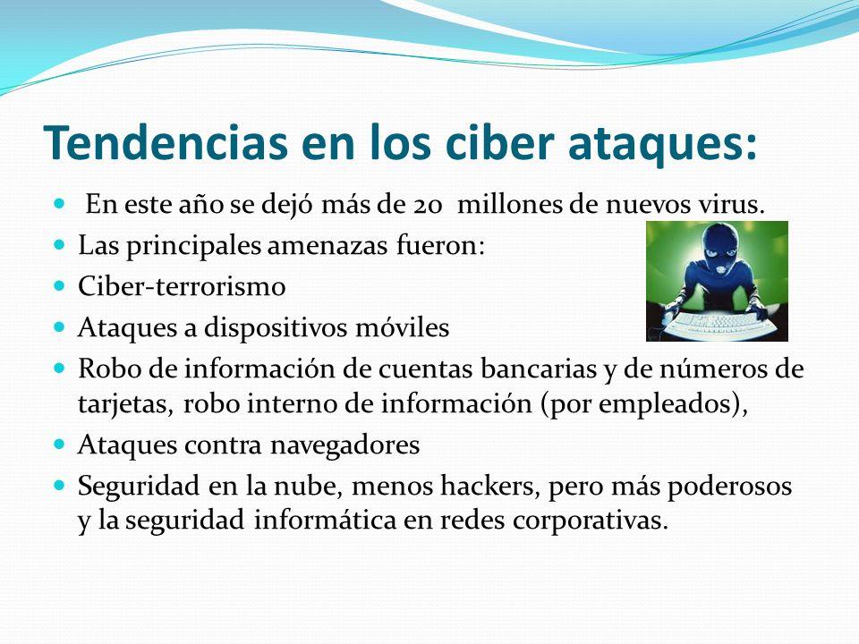 Tendencias en los ciber ataques: