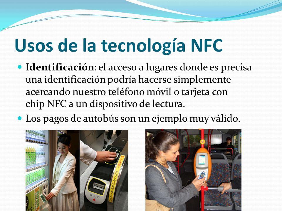 Usos de la tecnología NFC