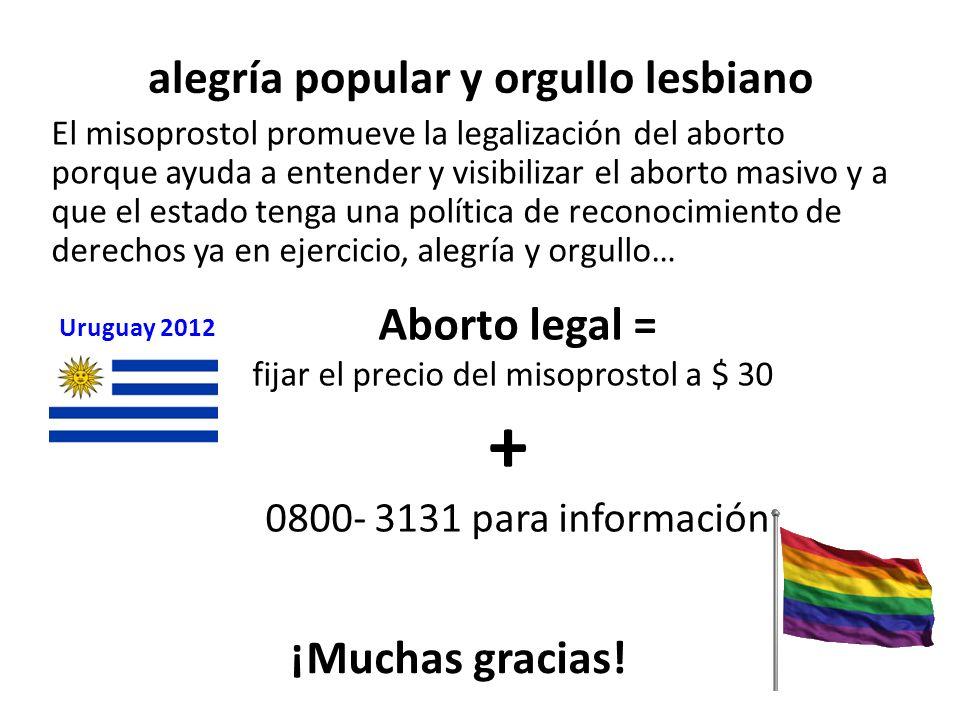 alegría popular y orgullo lesbiano