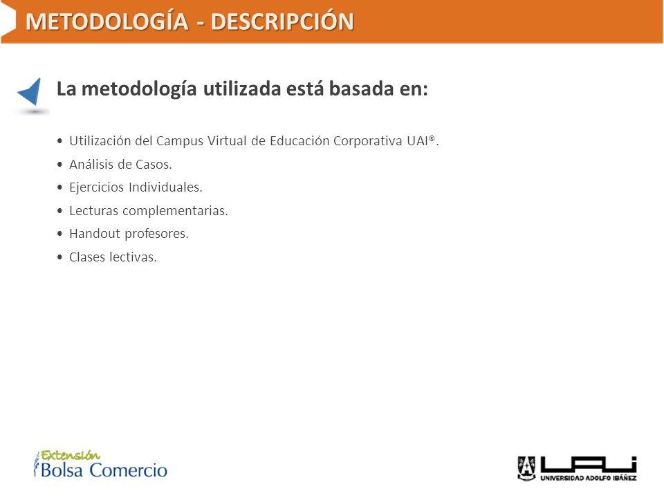 METODOLOGÍA - DESCRIPCIÓN