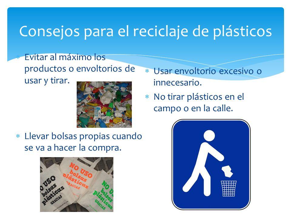 Tratamientos y reciclaje de pl sticos ppt descargar - Consejos de reciclaje ...