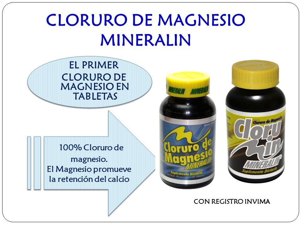 CLORURO DE MAGNESIO MINERALIN