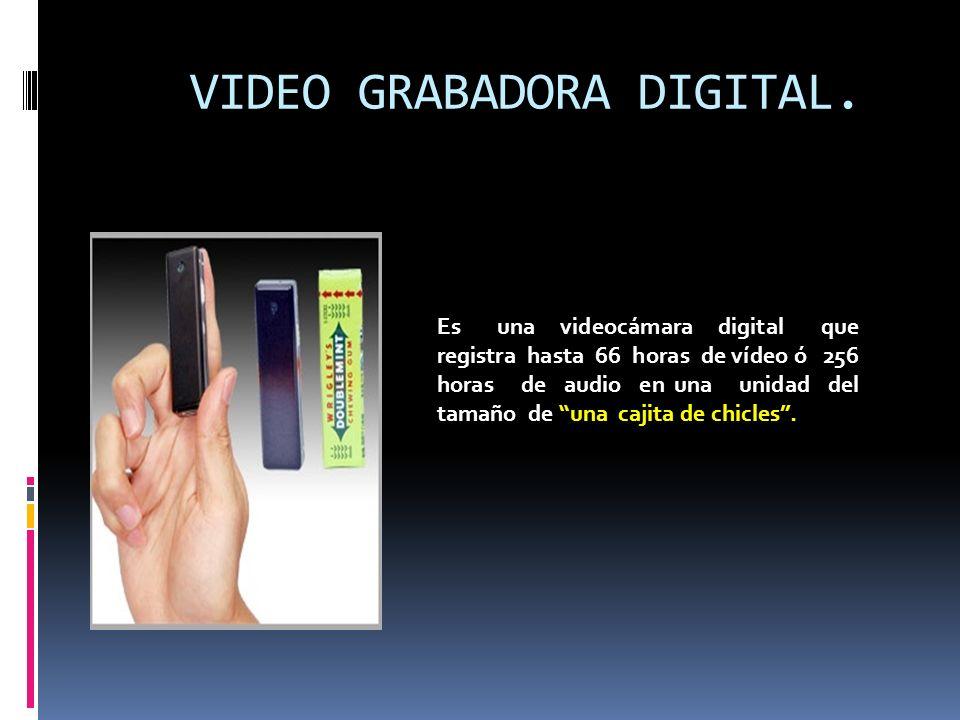 VIDEO GRABADORA DIGITAL.