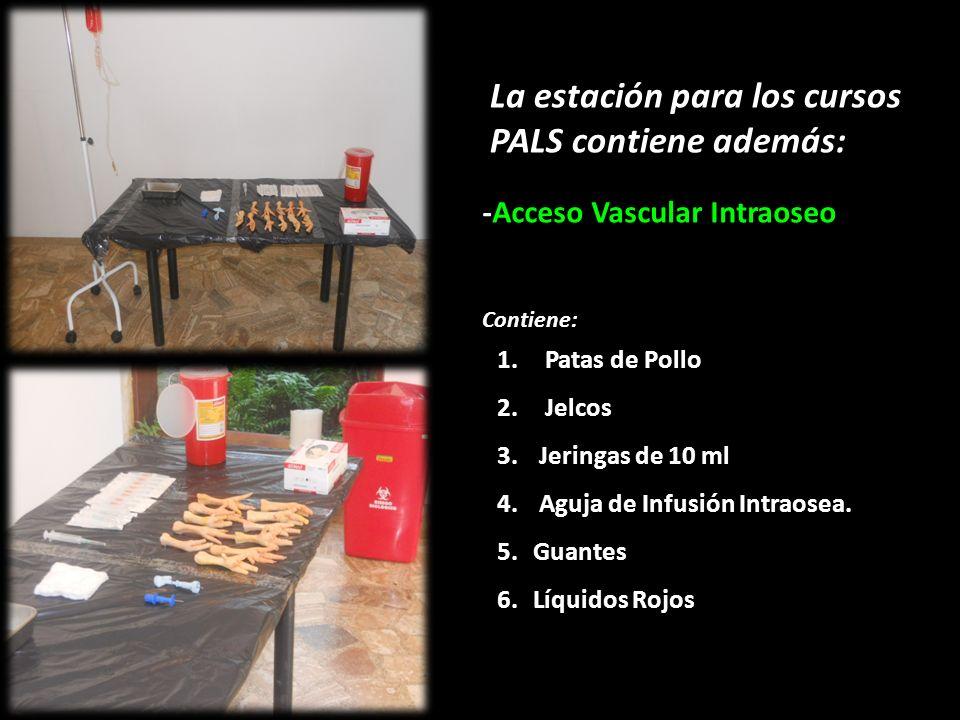 La estación para los cursos PALS contiene además: