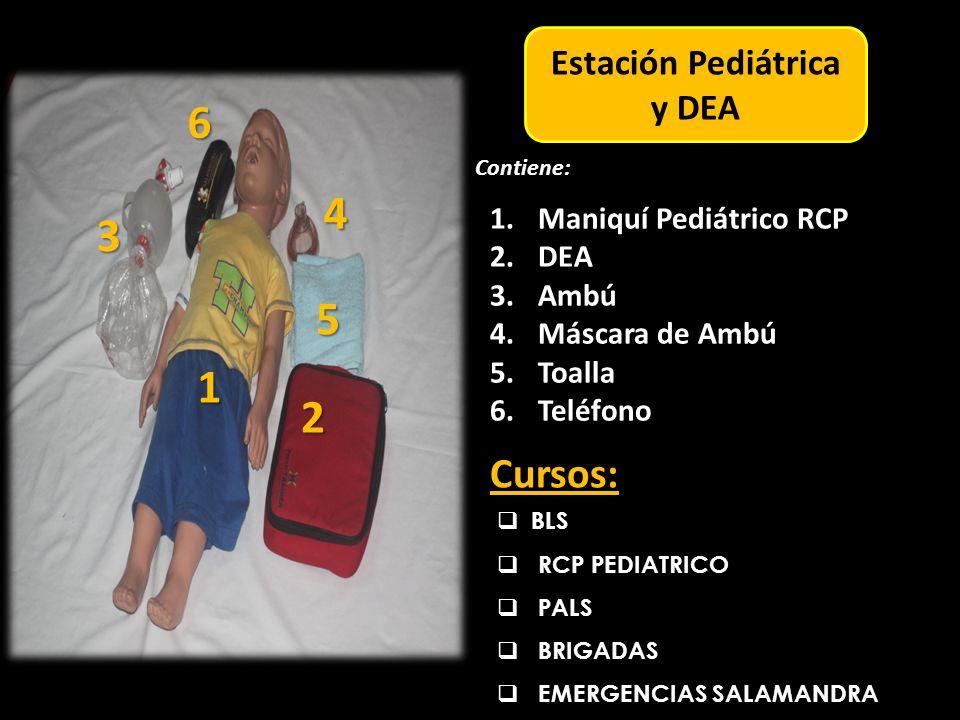 Estación Pediátrica y DEA
