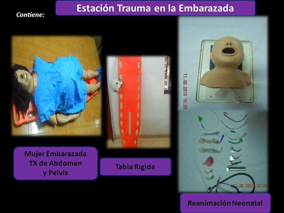 Estación Trauma en la Embarazada