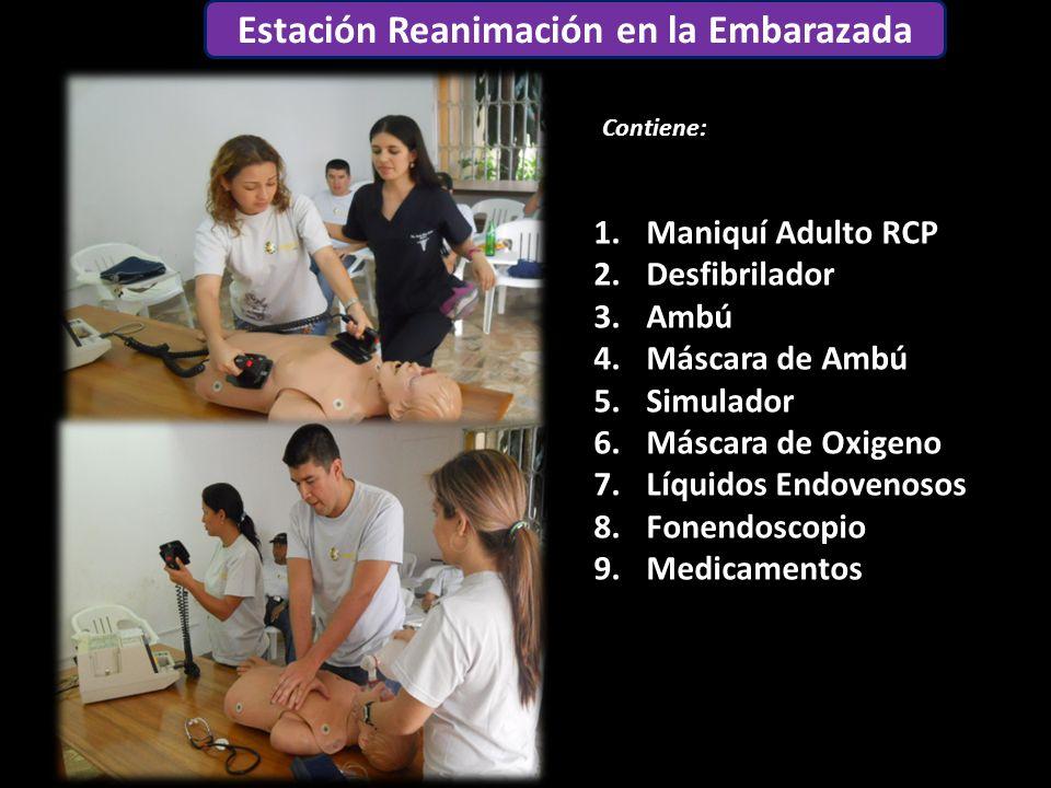 Estación Reanimación en la Embarazada