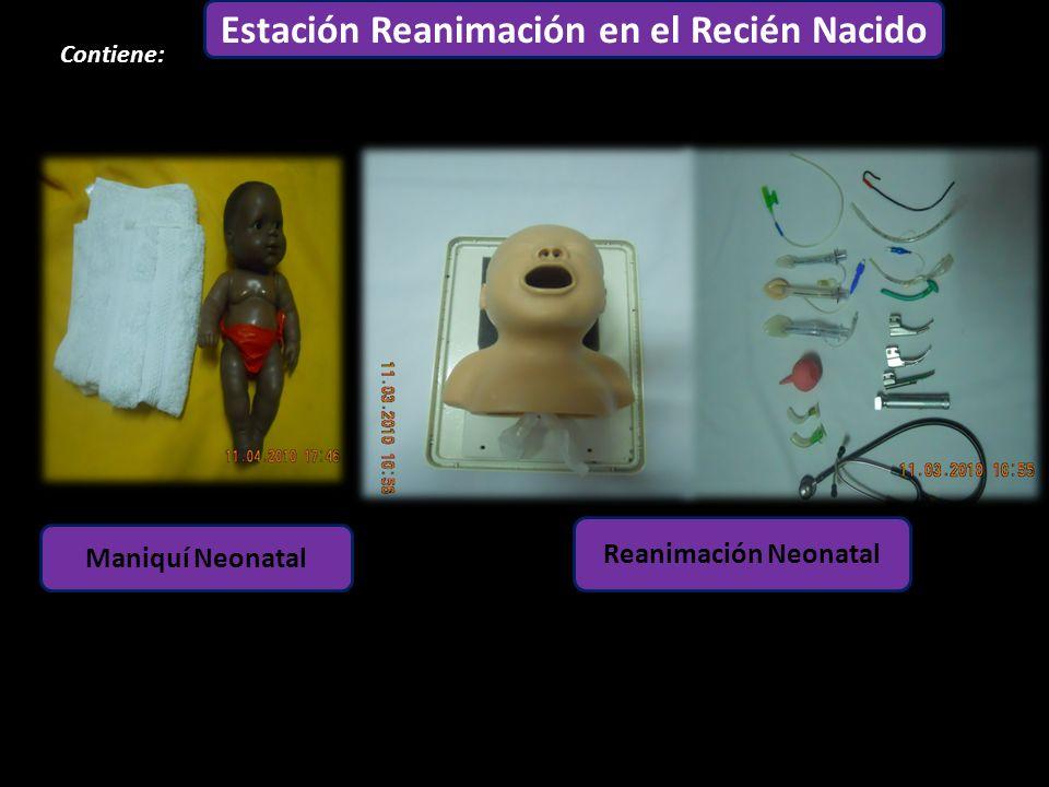 Estación Reanimación en el Recién Nacido