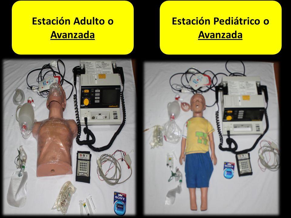 Estación Adulto o Avanzada Estación Pediátrico o Avanzada