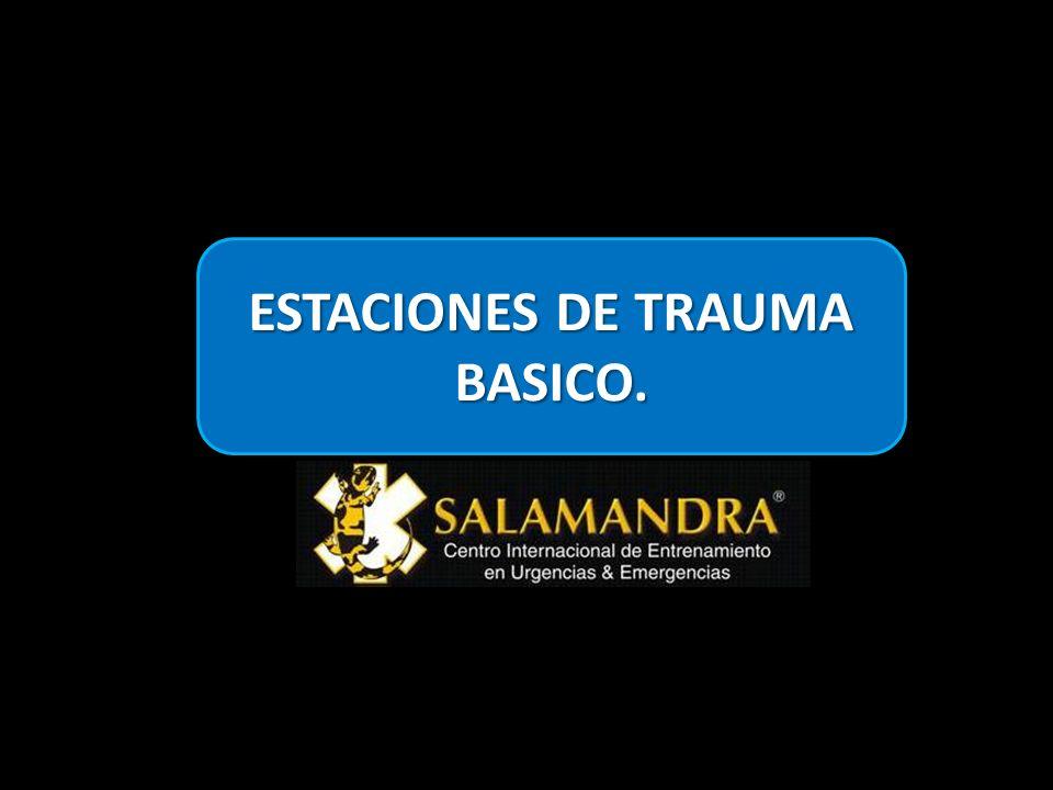 ESTACIONES DE TRAUMA BASICO.