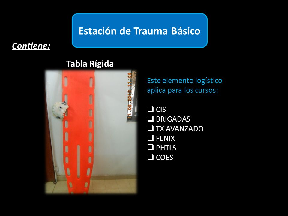 Estación de Trauma Básico