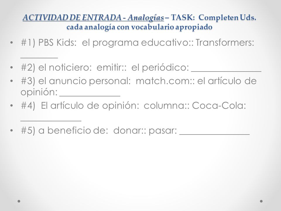 #1) PBS Kids: el programa educativo:: Transformers: ________