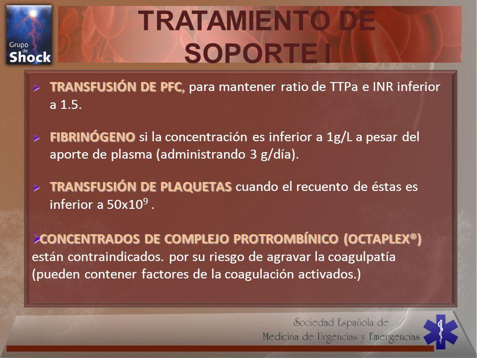TRATAMIENTO DE SOPORTE I
