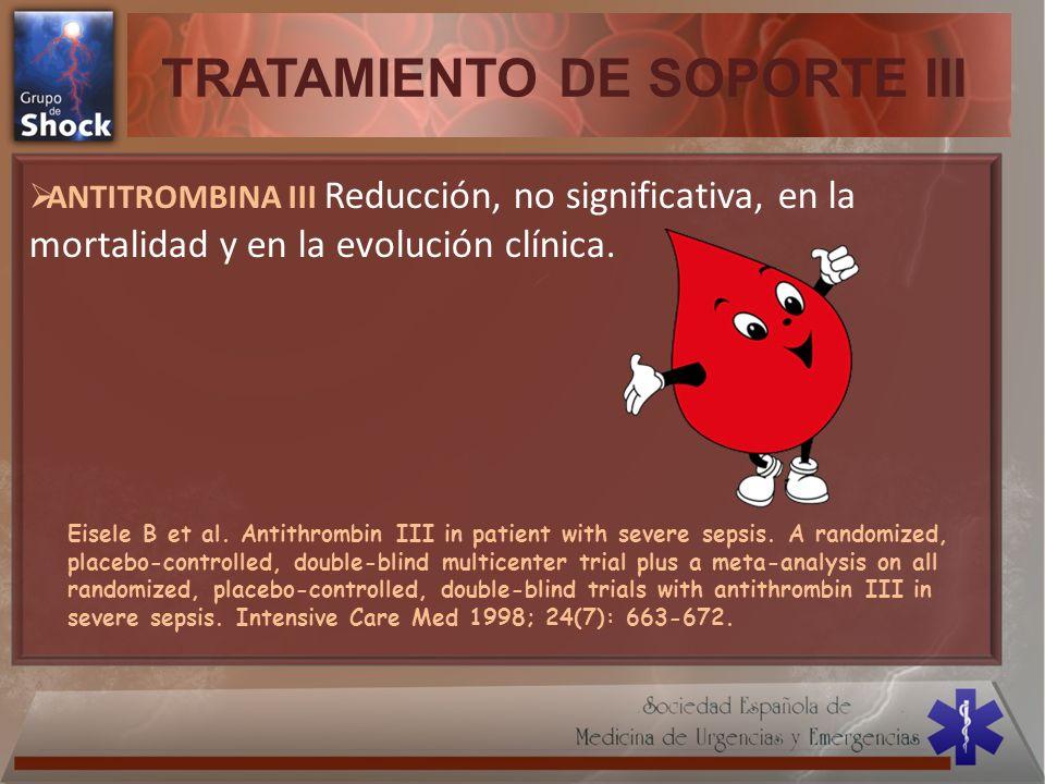 TRATAMIENTO DE SOPORTE III