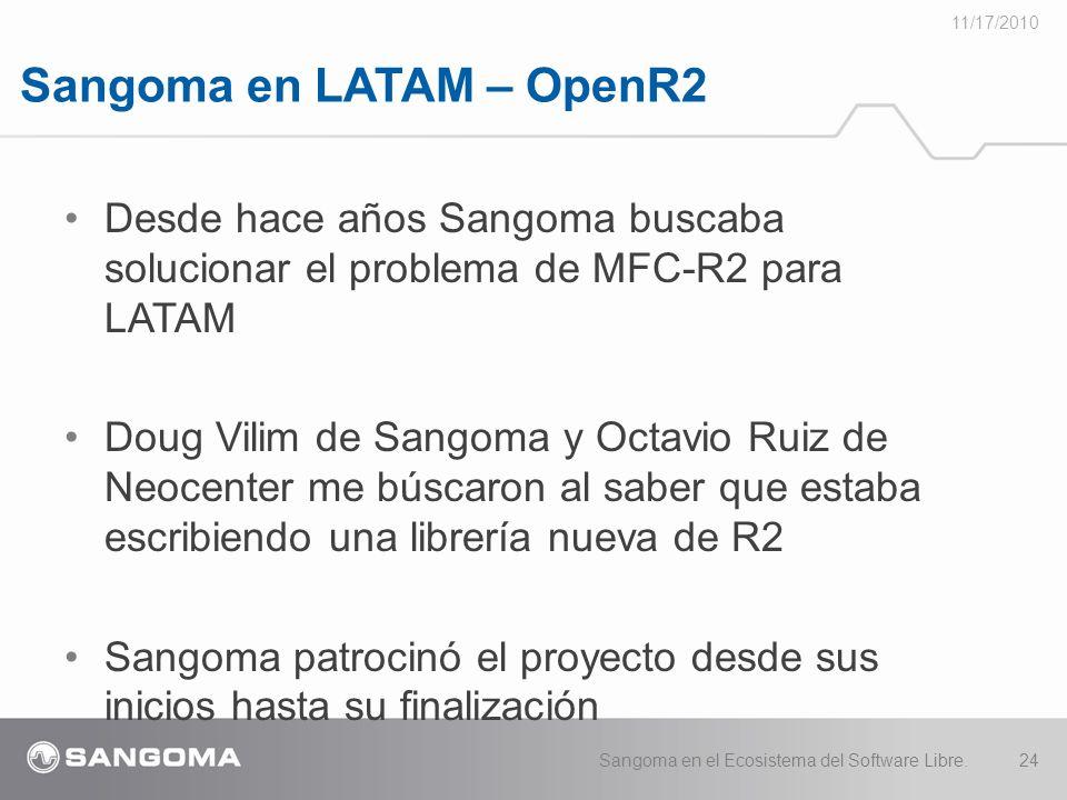 Sangoma en LATAM – OpenR2
