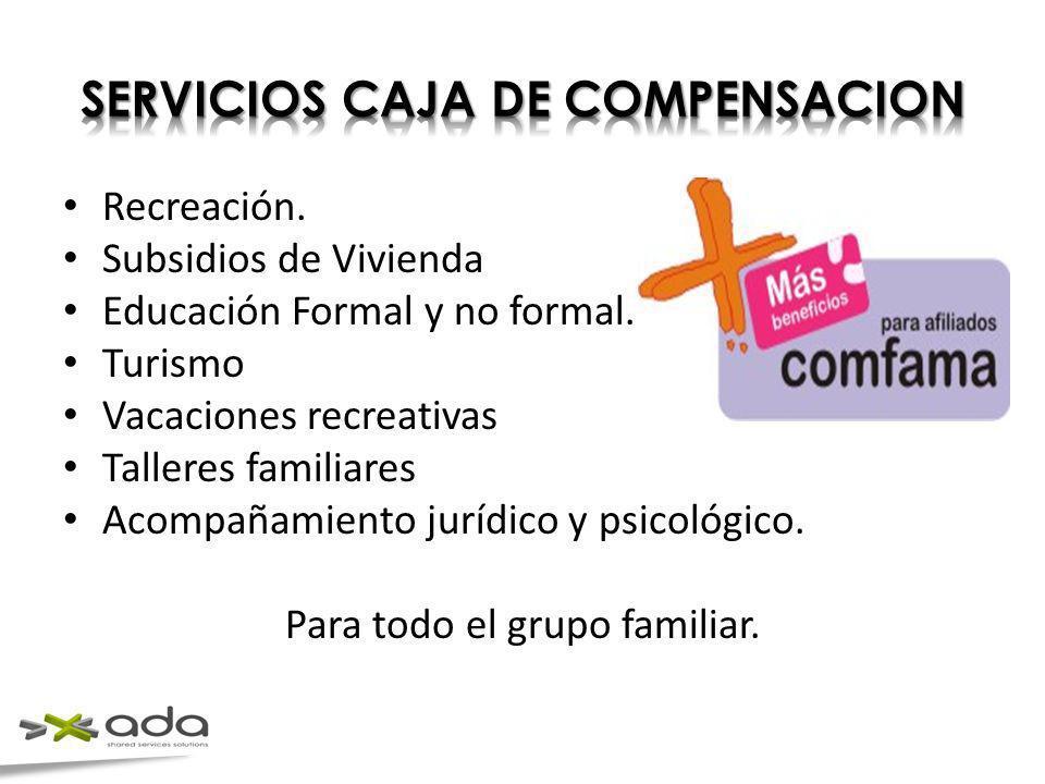 SERVICIOS CAJA DE COMPENSACION