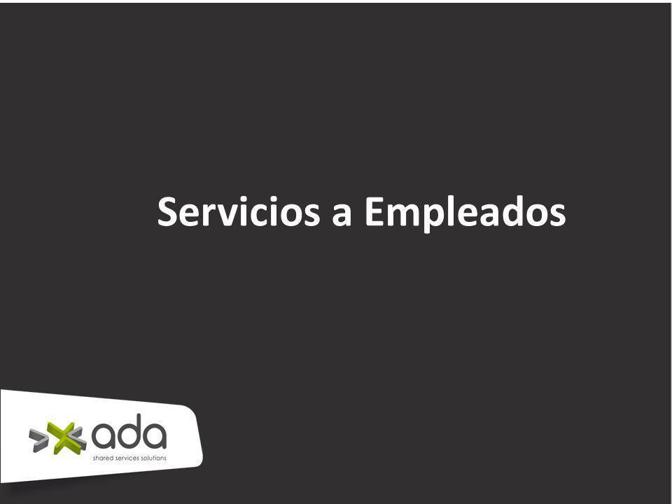 Servicios a Empleados