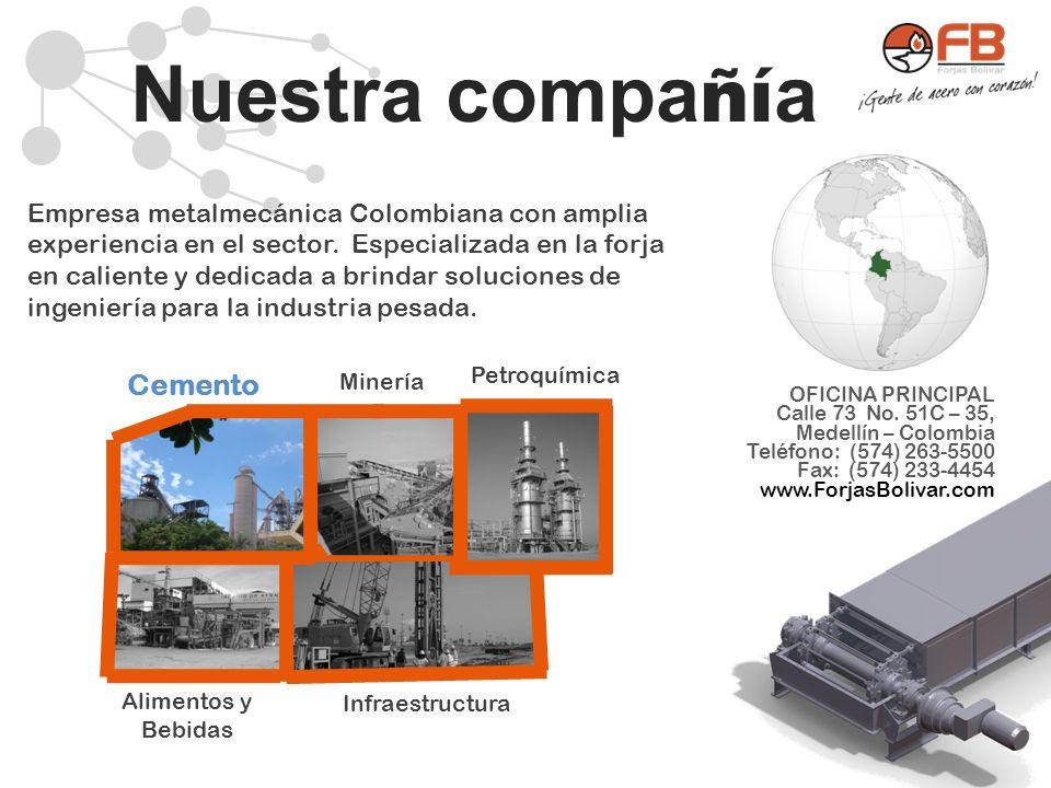 Nuestra compañía Cemento
