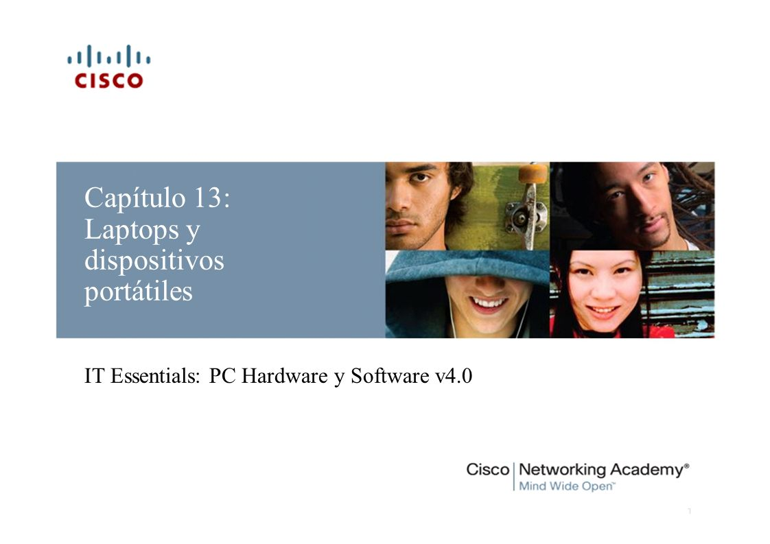 Capítulo 13: Laptops y dispositivos portátiles