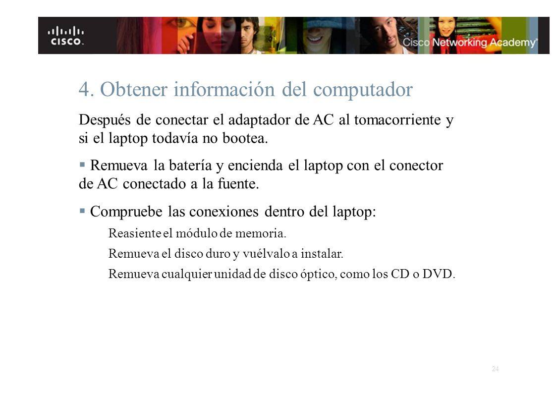 4. Obtener información del computador