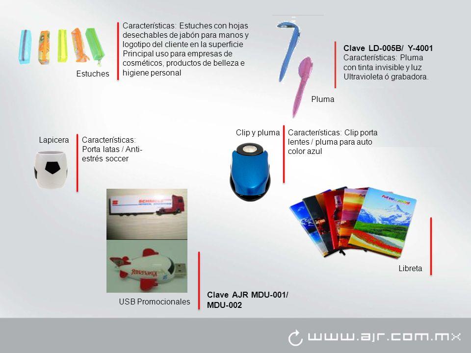 Clave LD-005B/ Y-4001 Clave AJR MDU-001/ MDU-002