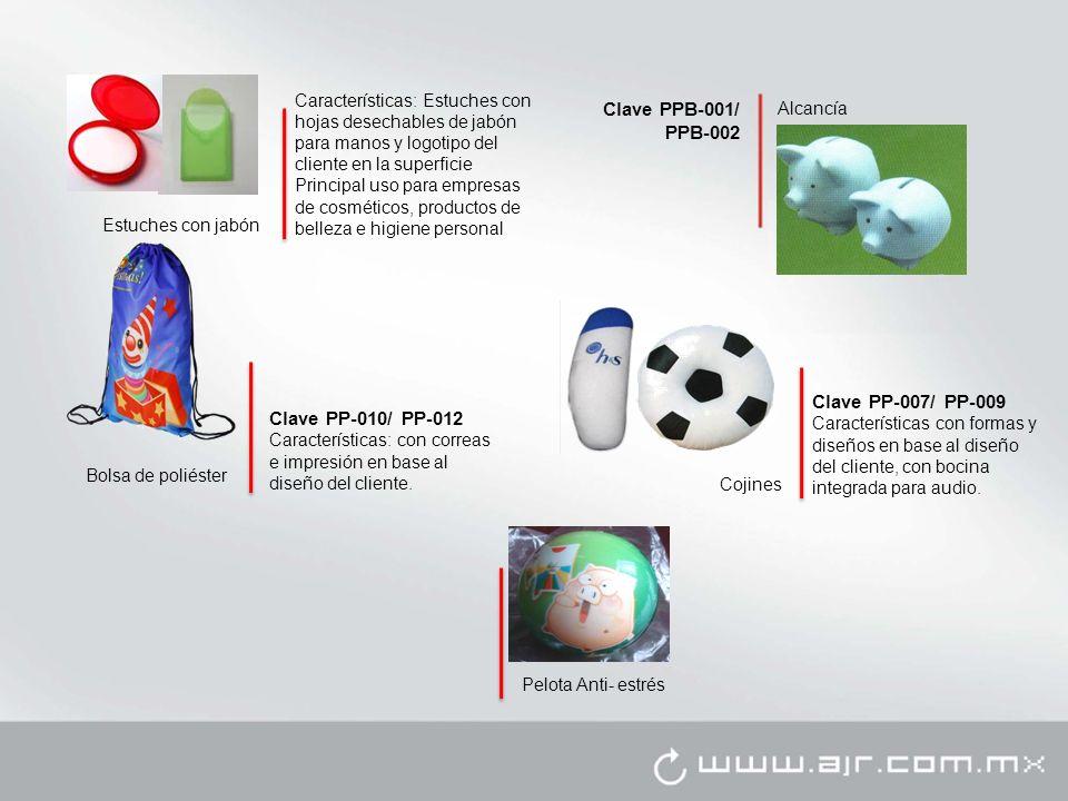 Clave PPB-001/ PPB-002 Clave PP-007/ PP-009 Clave PP-010/ PP-012