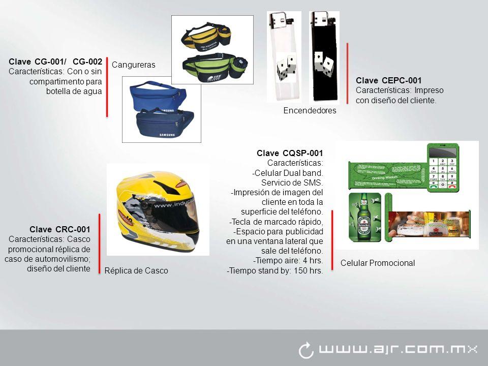 Clave CG-001/ CG-002 Clave CEPC-001 Clave CQSP-001 Clave CRC-001