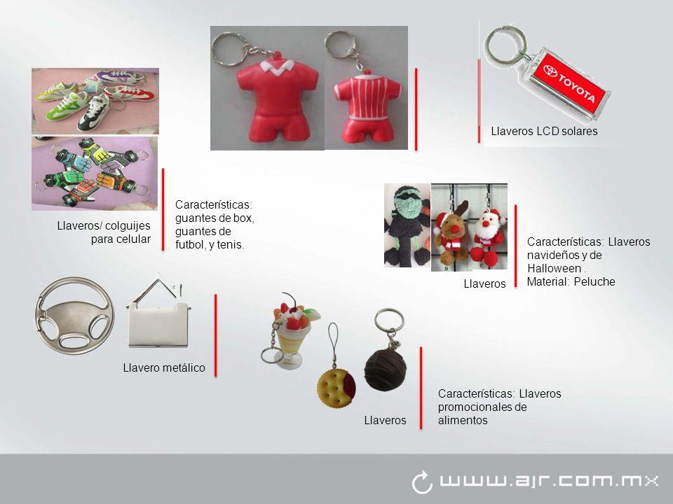 Llaveros LCD solares Características: guantes de box, guantes de futbol, y tenis. Llaveros/ colguijes para celular.