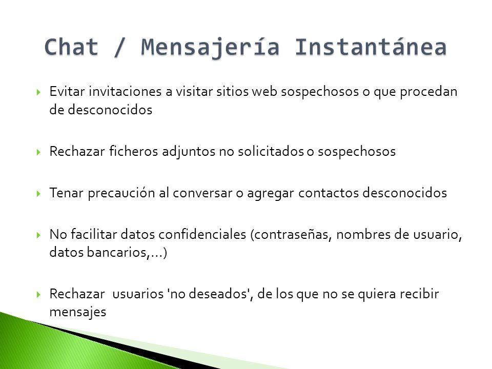 Chat / Mensajería Instantánea