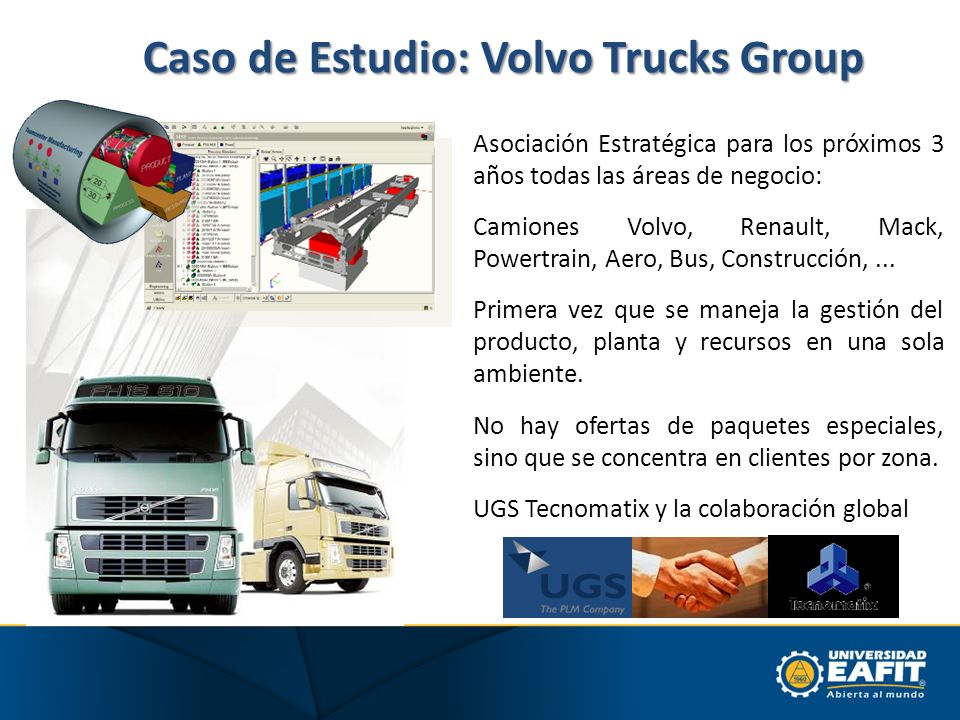 Caso de Estudio: Volvo Trucks Group