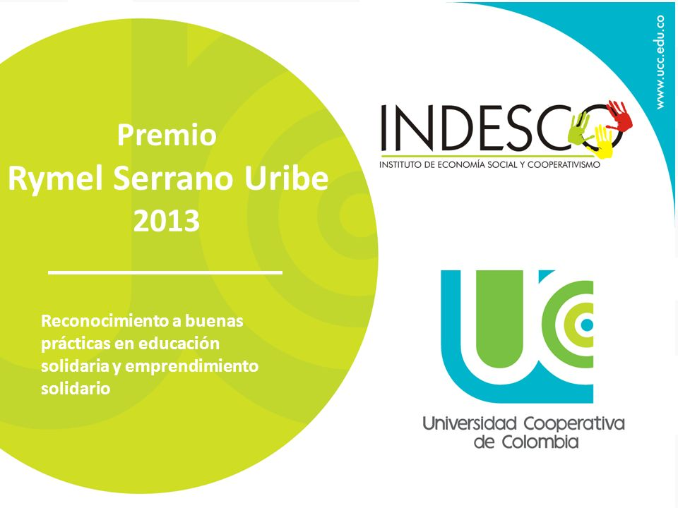 Rymel Serrano Uribe Premio 2013