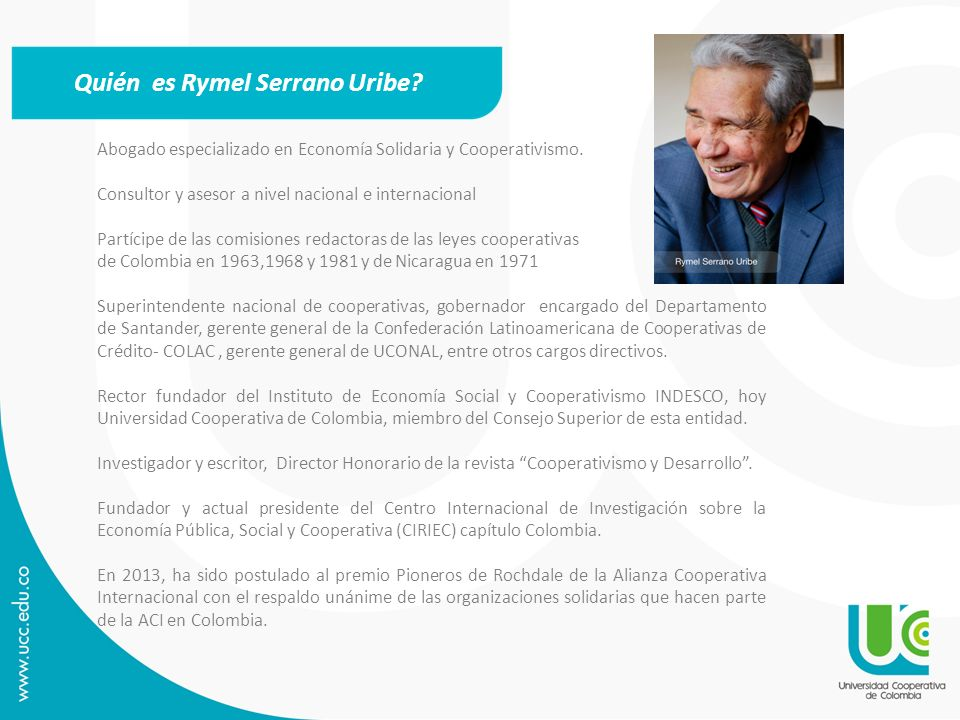 Quién es Rymel Serrano Uribe