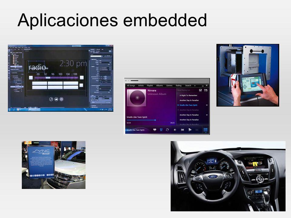 Aplicaciones embedded