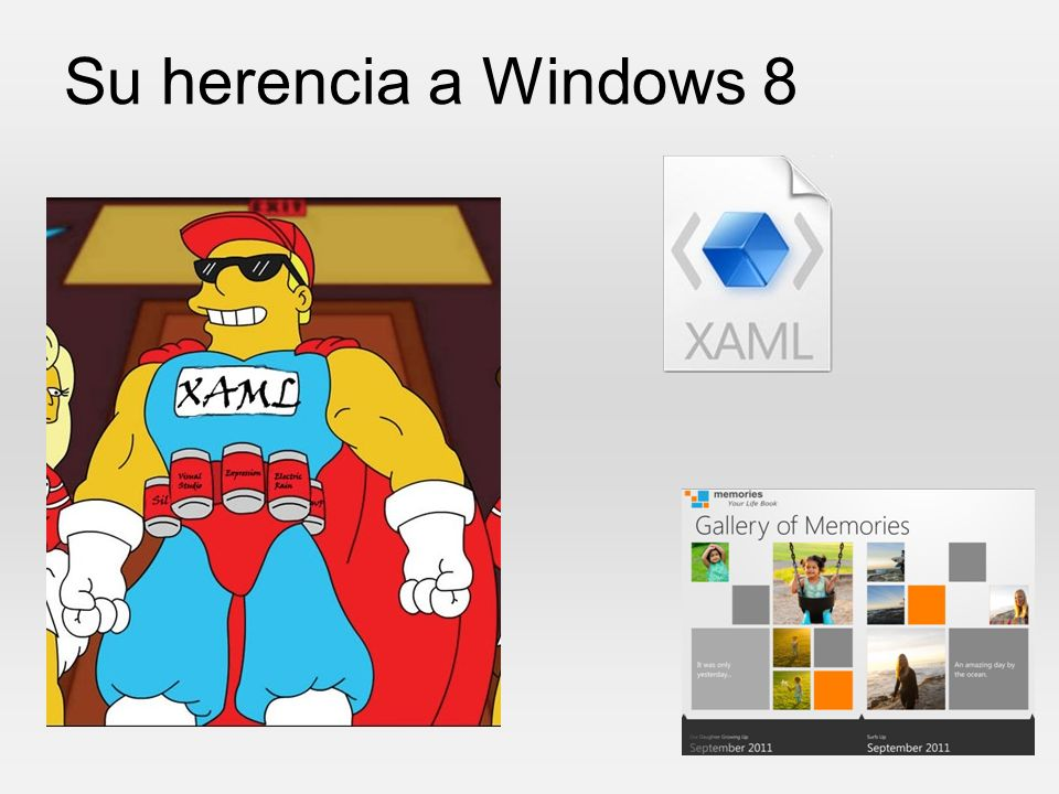 Su herencia a Windows 8