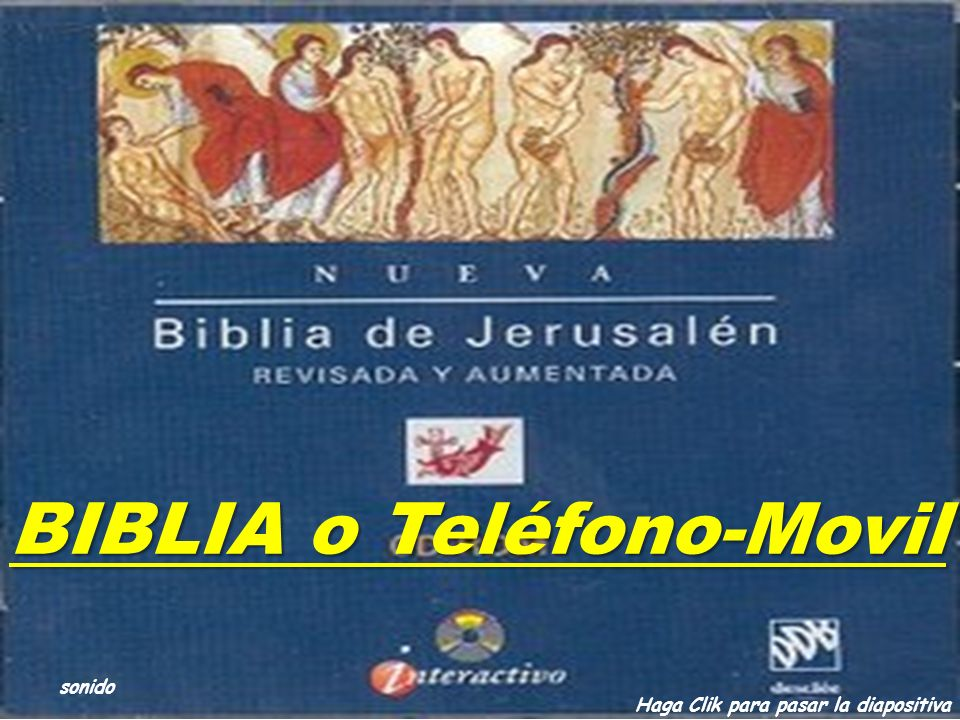 BIBLIA o Teléfono-Movil